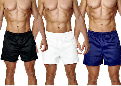 Mens Rugby Shorts 100% Cotton Gym Leisure Training Fitness Active Wear Black