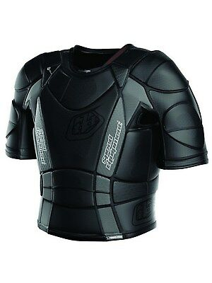 Troy Lee Designs Black UPS 7850 - Hot Weather MX Body Armour