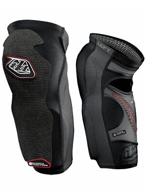 Troy Lee Designs Black KGL5450 Pair of MX Knee and Shin Guard