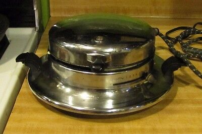 Vintage Electrahot Waffle Iron Makes Great Waffles!! Tested & Admired its Great!