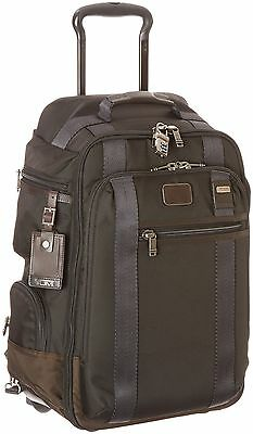 TUMI Alpha Bravo Peterson Wheeled Backpack, Hickory, One Size FREE SHIPPING