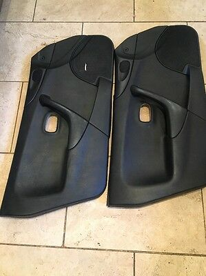 Mazda Mx5 Mk2 .5 Set Off Black Door Cards