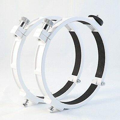 Tube straps 150mm diameter ( 1 Set = 2 pieces ) with camera-adaptor 1/4""