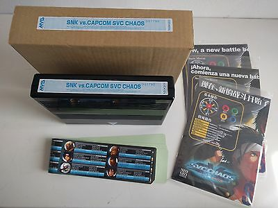 SVC Chaos MVS Kit Neo Geo complete matching serial 1790 top cond. NEW PRICE!