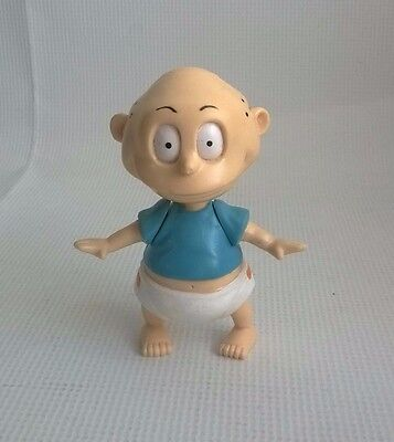 "Rugrats Figure Tommy Pickles Figure Moveable Arms 1998 3"" Tall TV Nickleodeon"