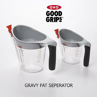OXO Good Grips Gravy Fat Oil Separator With Measure Kitchen