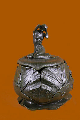 Handcrafted bronze sculpture SALE Cast Hot Bouval Maurice By Nouveau Art French.
