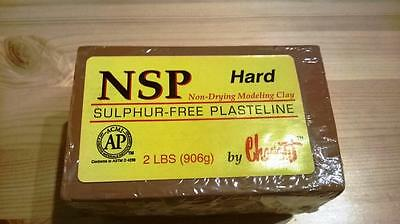 NSP, non Drying Modeling Clay (Hard)
