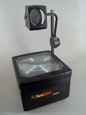 Dukane Sunsplash Sp2233 Overhead Transparency Projector Tested Free Shipping