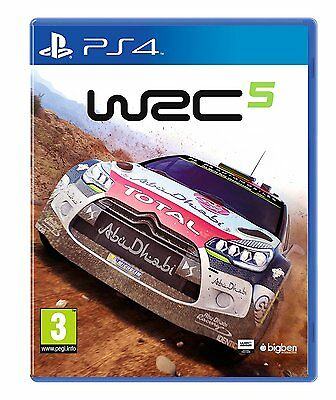 WRC 5 PS4 - Brand New and Sealed