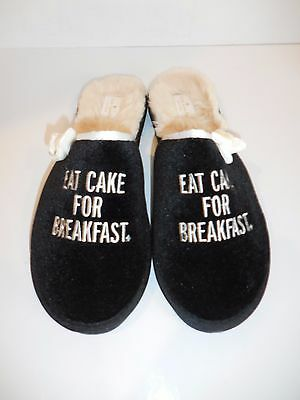 Kate Spade New York Berry Slippers Eat Cake for Breakfast House Shoe Size 11