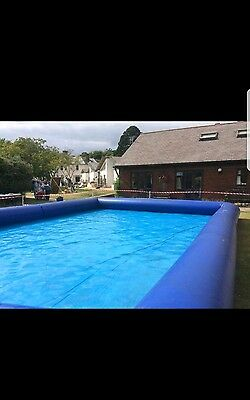 water zorbing pool and balls