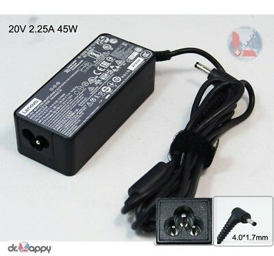 Genuine Lenovo 45W AC Power Adapter Charger for ideaPad 100-15IBR 80T7008QGE