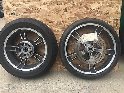"Harley-Davidson 2009-2017 19"" Enforcer Front Wheel set, Tire, Rotors    #27"