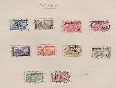 COLUMBIA 1945-48 on old pages, as per scan, removed to send  #