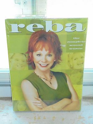 Reba - The Complete Second Season (DVD, 2009, 3-Disc Set) 24 Episodes NEW