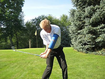 """Golf Training Aid - Bending Your Arm, Get Help From The """"Straight Arm"""""""