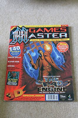Games Master Magazine Issue 2 1993 very very good condition Chaos Engine