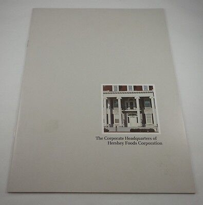 Vintage The Corporate Headquarters Of Hershey Foods Corporation Book