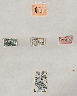 COLUMBIA 1948 on old pages, as per scan, removed to send  #