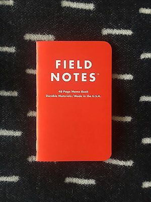 Field Notes Facebook Analog Research Laboratory — Single Notebook — Rare