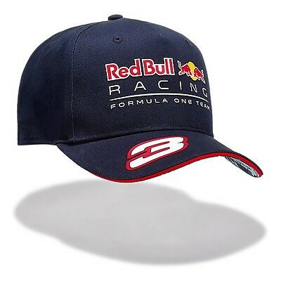2017 OFFICIAL F1 Red Bull Racing Daniel RICCIARDO Baseball Cap Hat MENS – NEW
