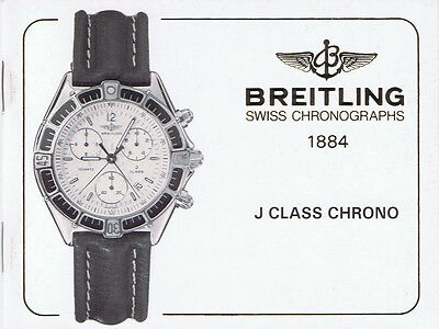 Breitling J Class Chrono Anleitung Instructions I414