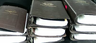 Jeppesen Lot Of Airplane Pilot Airway Manuals
