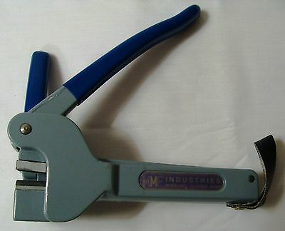 MMF Industries Ratchet-Style Seal Press Crimper