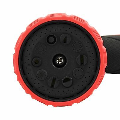 50/75/100/150ft Expandable Garden Hose Flexible Pipe Expanding W/ Spray Gun Red