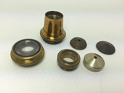 Brass Microscope Lens Tube Spares Parts Steampunk Props
