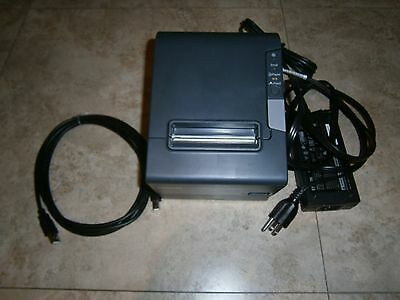 Epson Receipt Kitchen Order Printer M244A W/ Power Supply Tm-T88V