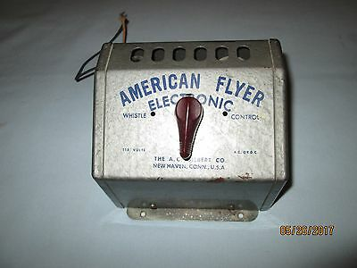 American Flyer S Gauge Electronic Whistle Control Unit.