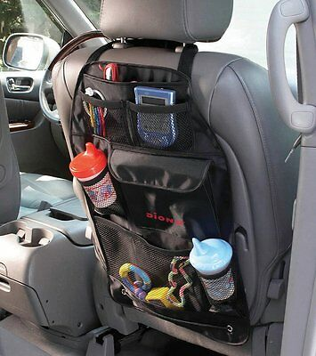 Diono Car Tidy Travel Organiser & Back Seat Protector - Kids Storage Stow n Go