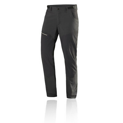 Haglofs Lite Hybrid Womens Grey Outdoors Walking Long Pants Bottoms