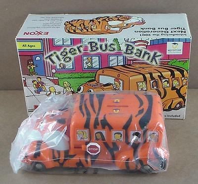 2001 Exxon Next Generation Tiger Bus Bank Upromise New Open Box