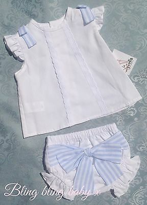 Baby Boys Spanish Designer Shirt Shorts Jam Pants Outfit Set Romany 3-6 Months