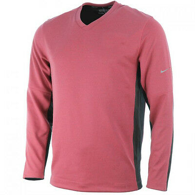 Nike Golf  Dri Fit V Neck Wool Tech Sweater Pullover Red, XXL ONLY - RRP£60