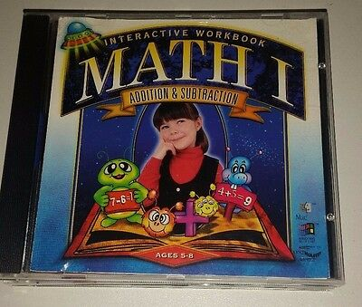 Interactive Workbook Math I Addition And Subtraction : Educational CD-Rom