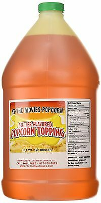 Butter Flavor Popcorn Topping Oil (Gallon), New, Free Shipping