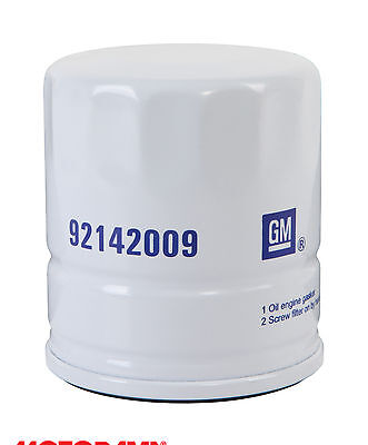 Genuine GM Holden Oil Filter Suit Selected Barina Astra Vectra +more! #92142009