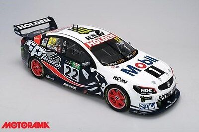 1:12 Scale Model Car 2015 VF Commodore 22 HRT Peter Brock Tribute Livery B12H15Y