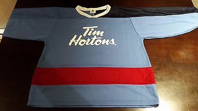 Tim Hortons Hockey Jersey - Adult Small - Made in Canada ( Timbits # 8 )