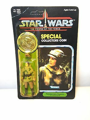 VINTAGE PRINCESS LEIA ORGANA IN COMBAT PONCHO COLLECTORS STAR WARS  kenner 1984