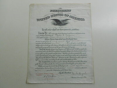 1917 WWI Officers Commission 2'nd Lieutenant Field Artillery Charles Norquist