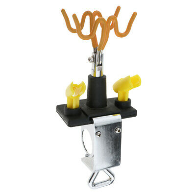 Airbrush Holder Holds 4x Air Brush Guns Clamp-on Station Stand Parts Hobby