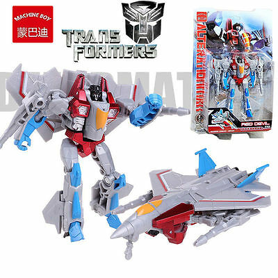 Machine Boy Transformers Starscream Robot Action Figures Kids Child Play Set Toy