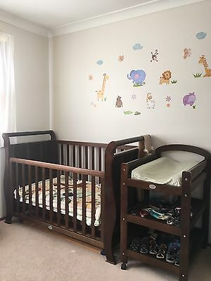 Matching Cot and Change Table