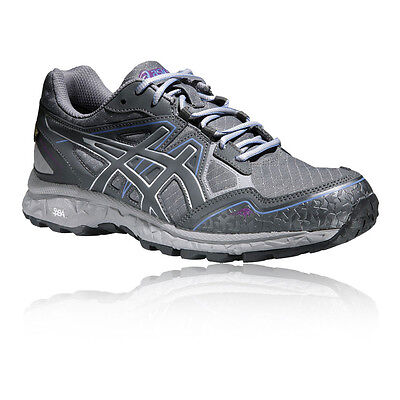 Asics Gel-Fujistorm Womens Grey Waterproof Gore Tex Walking Hiking Shoes