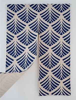 "KARUILU home Japanese Noren Doorway Curtain Tapestry 33.5"" Width x 47.2"" Long B"